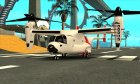 Пак воздушного транспорта от Nitrous'а for GTA San Andreas rear-left view