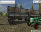 ПТС 12 v2.0 для Farming Simulator 2013 вид сзади слева