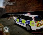 Ford Focus Estate '09 police UK. for GTA 4 left view