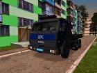 KAMAZ 65115 tow truck TRAFFIC