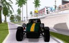 Caterham Classic for GTA San Andreas inside view