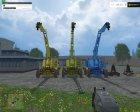 Modset T174 2B V 1.0 для Farming Simulator 2015 вид изнутри
