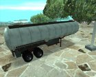 GTA IV Tanker Trailers for GTA San Andreas left view