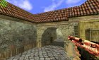 red desert eagle for Counter-Strike 1.6 rear-left view