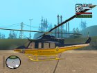 Bell 412 for GTA San Andreas back view