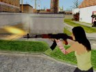 COD Advanced Warfare AK47 для GTA San Andreas вид сзади слева