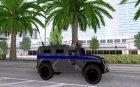 ГАЗ-23034 СПМ-1 Тигр for GTA San Andreas top view