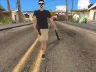 Обрез HD для GTA San Andreas вид сбоку