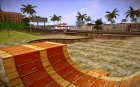 Skate Park with HDR Textures для GTA San Andreas вид сзади слева