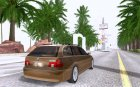 BMW 525 Touring for GTA San Andreas rear-left view