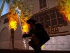 """Магический серебряный посох """"Доброй Розовой Феи"""" - повелительницы шальных единорогов for GTA San Andreas left view"""