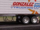 Trailer Gonzalez Trucking for GTA San Andreas inside view