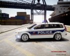 Volvo Police National для GTA 4 вид сбоку