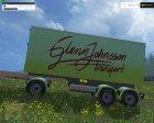 Scania R730 BRUKS V2.0 for Farming Simulator 2015 rear-left view