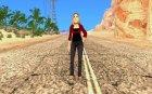 Новая девушка для Гта для GTA San Andreas вид изнутри