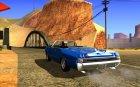 Pontiac GTO 1965 for GTA San Andreas rear-left view