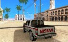 Nissan NP300 for GTA San Andreas rear-left view