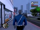 Quicksilver Comics skin for GTA San Andreas top view