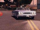 1963 Chevrolet Impala SS для GTA San Andreas вид сзади