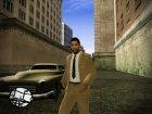 Дензел Вашингтон (Из к/ф Американский гангстер) для GTA San Andreas вид слева