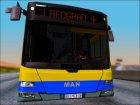 MAN Lions City GSP Beograd для GTA San Andreas вид сбоку