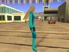 Tekken TT2 Lili Zero Suit для GTA San Andreas вид сзади слева