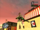 Пак зелёного оружия для GTA San Andreas вид сверху