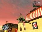 Пак зелёного оружия for GTA San Andreas top view