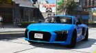 2017 Audi R8 1.0 for GTA 5 left view