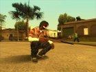 Guns default 'quality for GTA San Andreas rear-left view