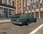 Nissan Skyline 2000 GT-R for Mafia: The City of Lost Heaven rear-left view