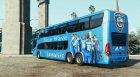 Al-Hilal S.F.C Bus for GTA 5 rear-left view