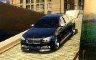 Меню и экраны загрузки BMW HAMANN в GTA 4 для GTA San Andreas вид сзади слева