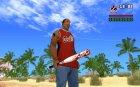 Окровавленная бита для GTA San Andreas вид сверху