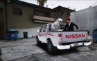 Nissan Ddsen Double Cab for GTA 5 left view