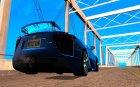 Lexus LFA 2010 v2 для GTA San Andreas вид сверху