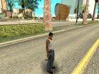 Black MP5 для GTA San Andreas вид сверху