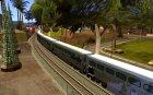 Длинные поезда для GTA San Andreas вид слева