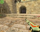 XM1014 Asiimov для Counter-Strike 1.6 вид слева