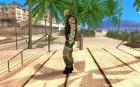 Скин бойца Альфы для GTA San Andreas вид слева