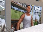 Дверь гаража текстура GTA V Франклин для GTA San Andreas вид справа
