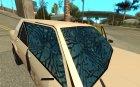Новые фары и стекло для GTA San Andreas вид сзади слева