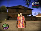 Hawaiian Shirt  by crow для GTA San Andreas вид сзади слева