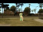 Lyra (My Little Pony) для GTA San Andreas вид сбоку