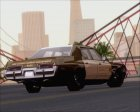 Dodge Monaco 1974 RCSD Non Sticktop/No Lights Version для GTA San Andreas вид сзади слева