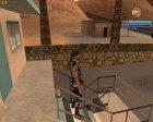 Новый байкер в камуфляжной желетке для GTA San Andreas вид сверху