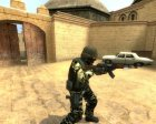 Jungle Camo CT для Counter-Strike Source вид слева