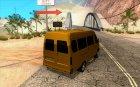ГАЗель 2705 маршрутное такси для GTA San Andreas вид сверху