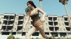 Lara Croft (Rise of The Tomb Raider) for GTA 5 inside view