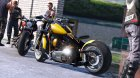 Harley-Davidson Fat Boy Lo Racing Bobber Lost MC Custom 1.1 for GTA 5 left view